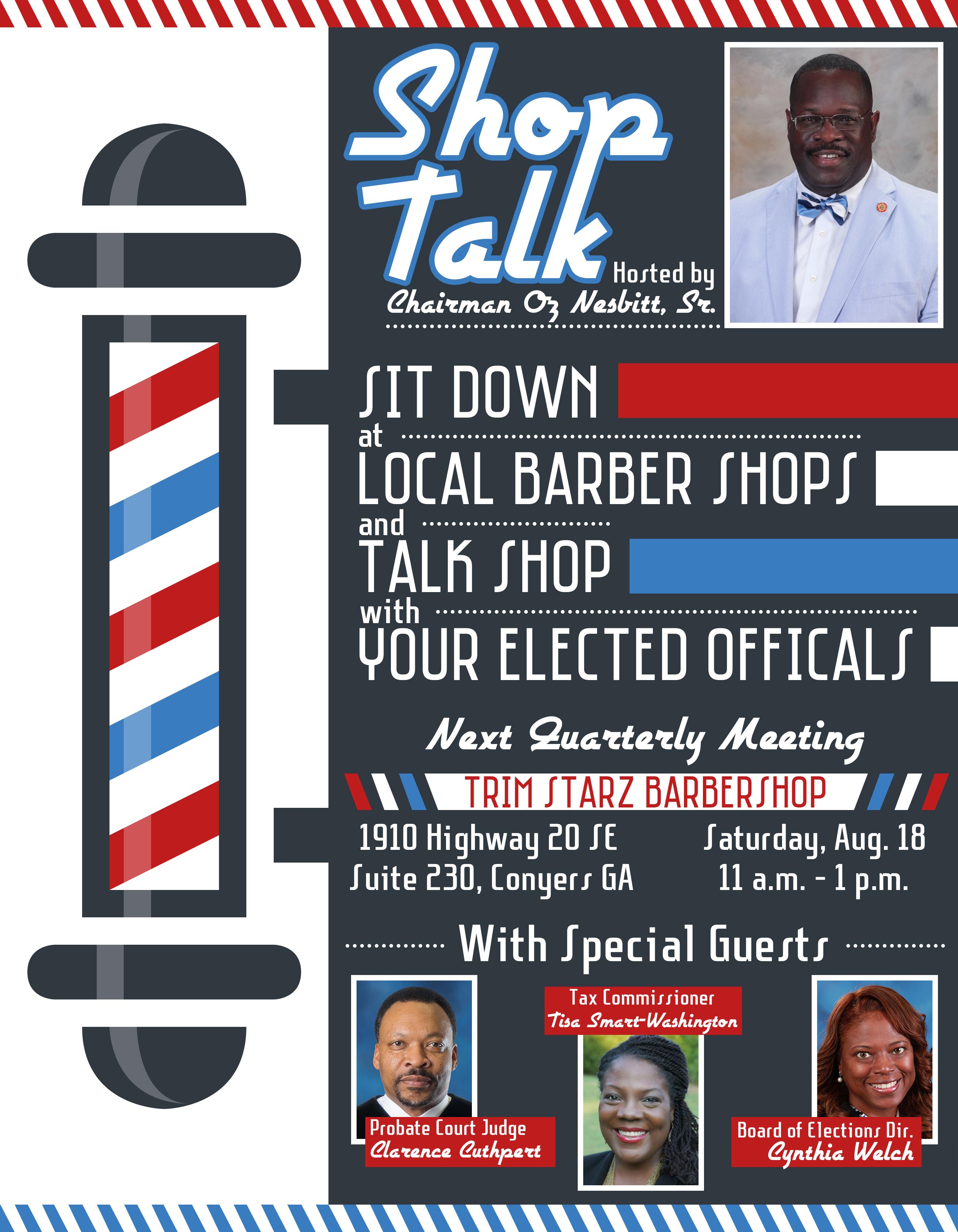 Shop Talk 3 @ Trim Starz Barber Shop
