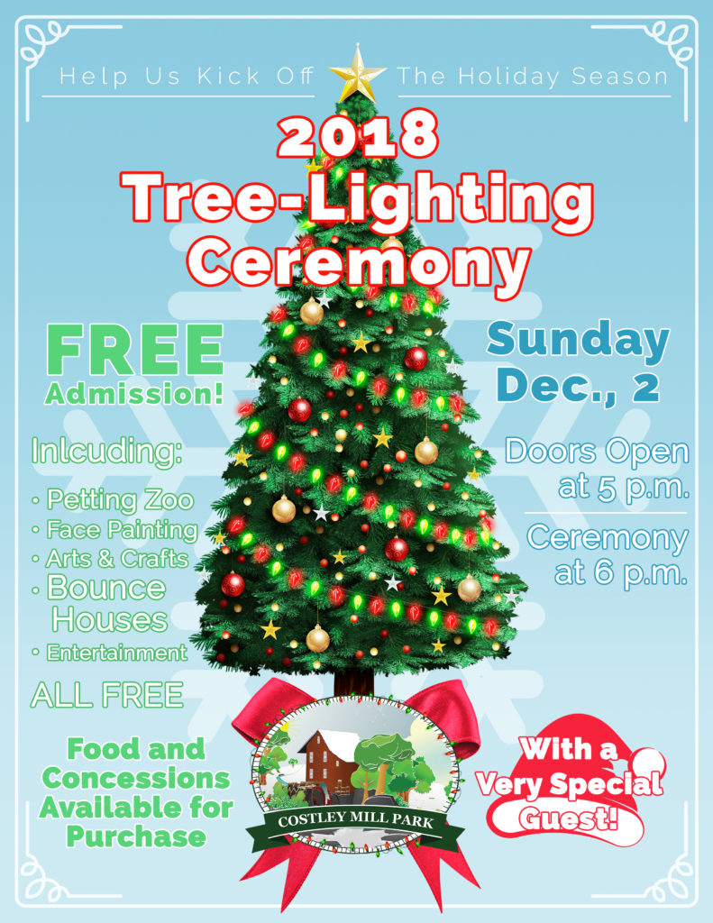 Rockdale County Tree Lighting at Costly Mill Park @ Costley Mill Park