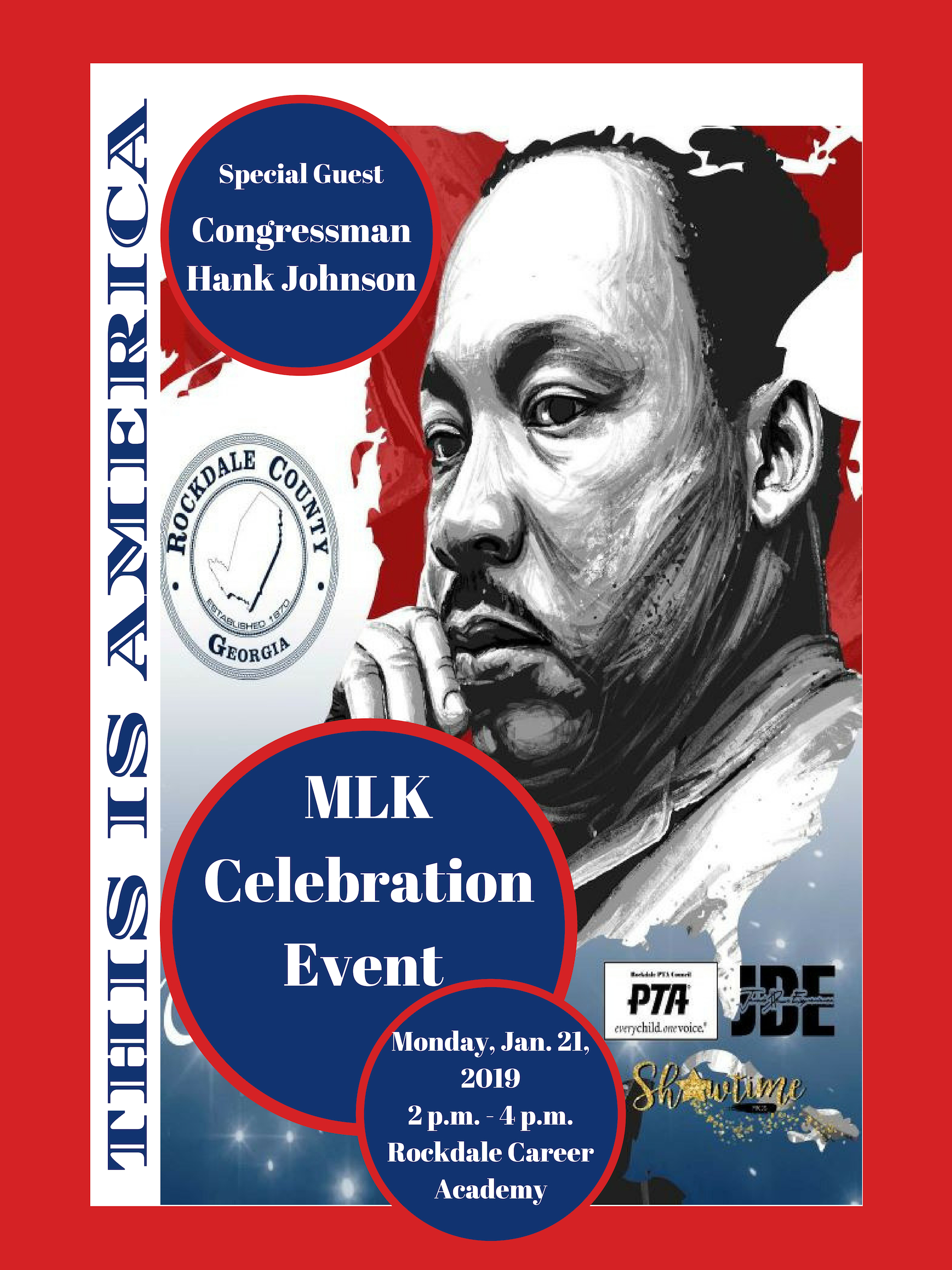 MLK Celebration @ Rockdale Career Academy Auditorium