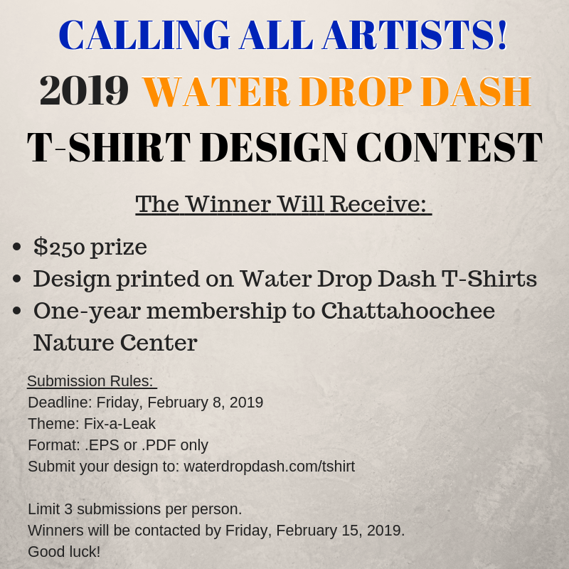 WaterDropDash T-Shirt Design Contest