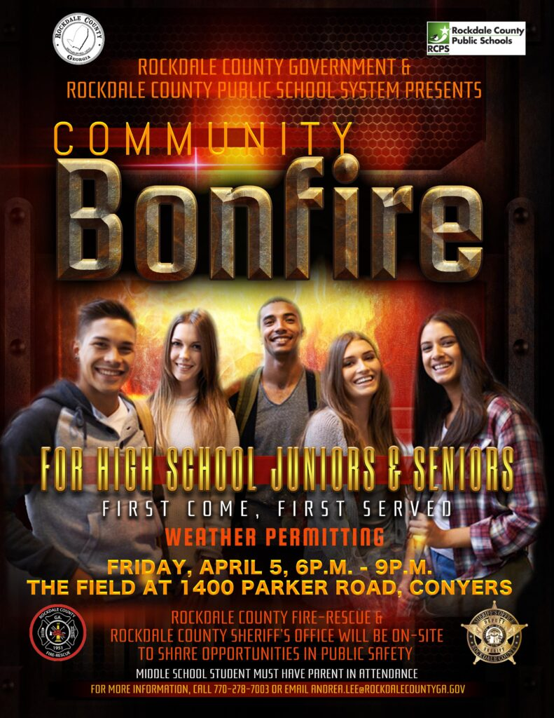 Community Bonfire @ Rockdale County Field at Parker Road