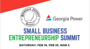 Small Business Entrepreneurship Summit – Welcome to Rockdale County