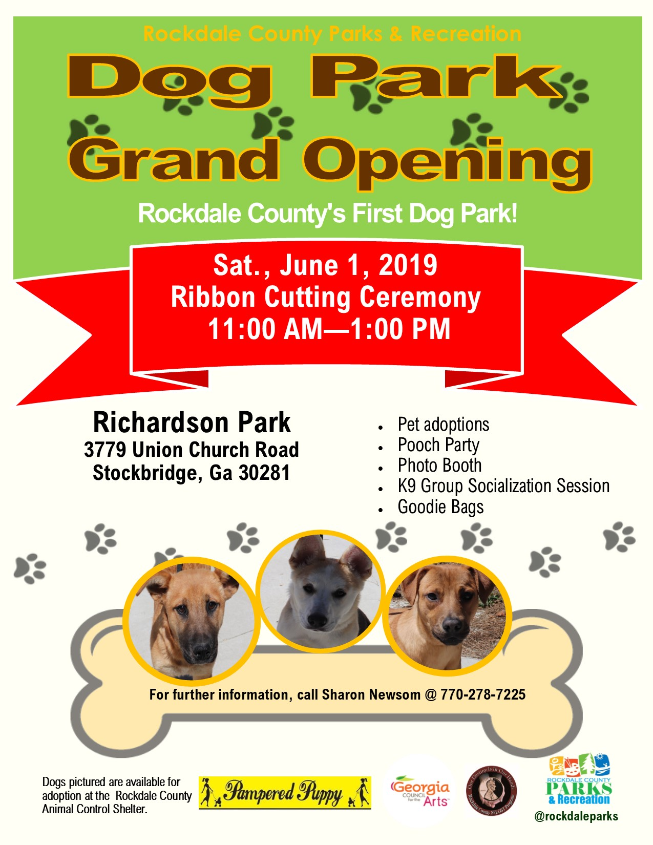 Dog Park Grand Opening @ Richardson Park