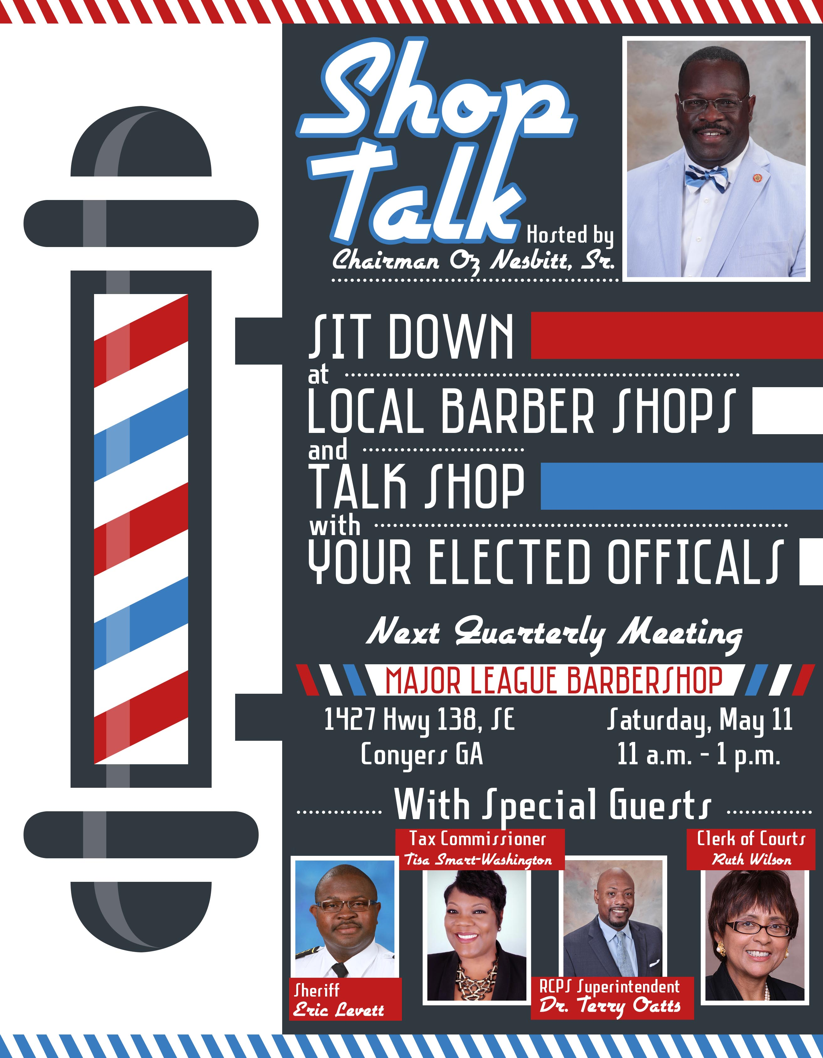 Shop Talk #2 @ Major League Barbershop