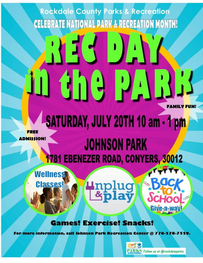 Rec Day in the Park @ Johnson Park