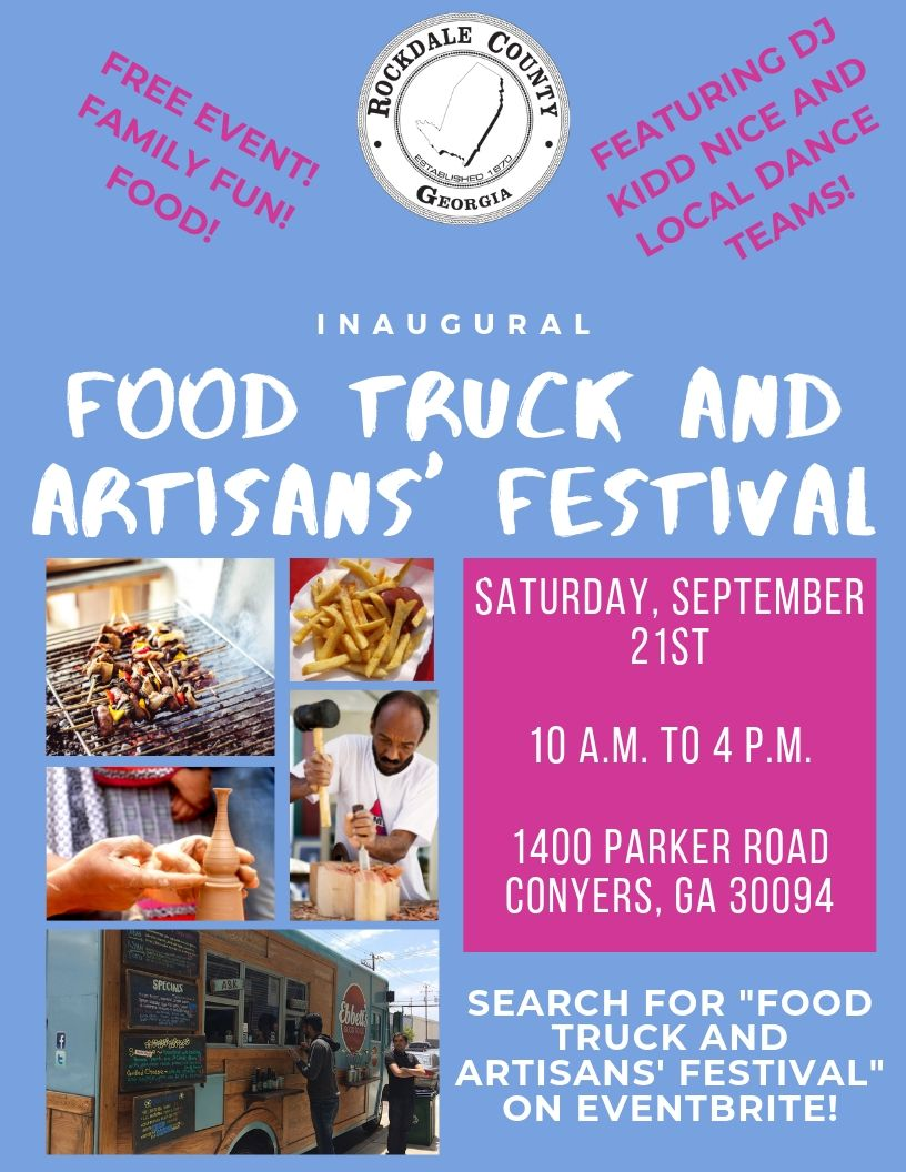 Inaugural Food Truck and Artisans' Festival