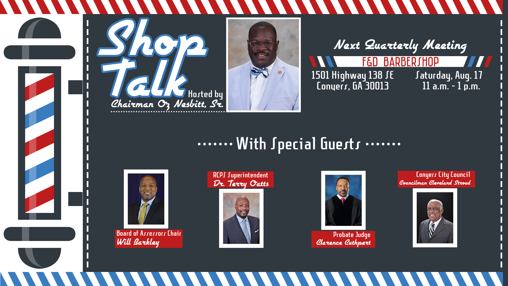 Shop Talk #3 @ F&D Barbershop