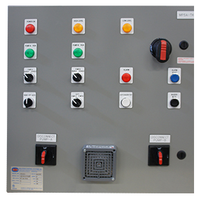 Automatic Pump Alternator Panel