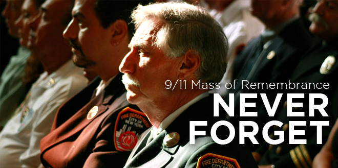 9/11 Mass of Remembrance Image