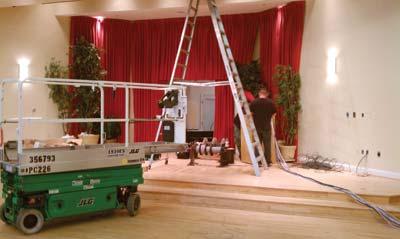 installing new AV system