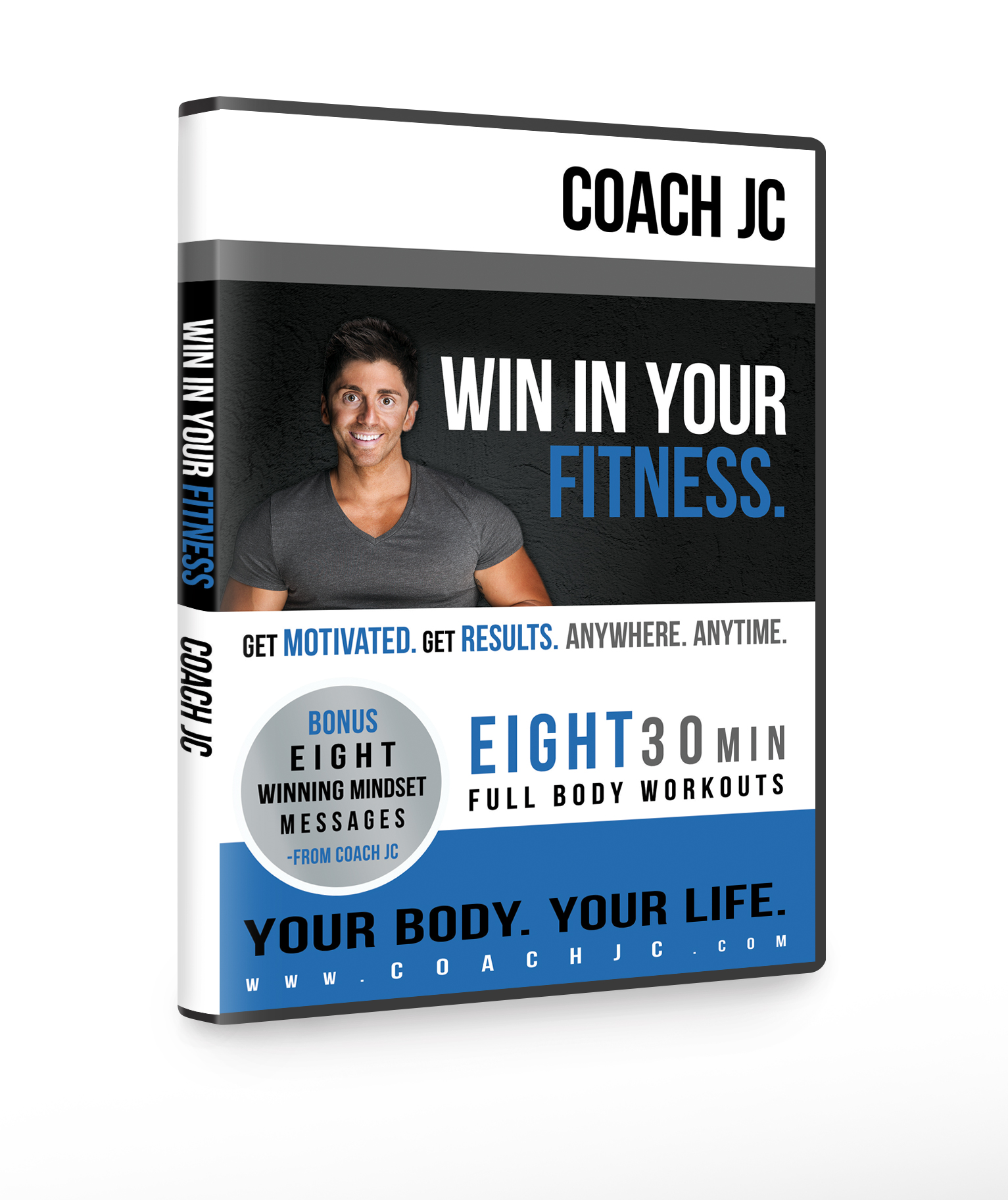WIN IN YOUR FITNESS – 8 DVD Set