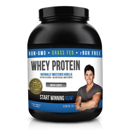 Coach JC – Whey Protein – Vanilla