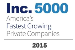 Best place to work in Louisville, KY - Fastest growing company award logo