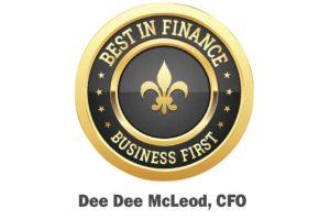 Best in Finance award Dee Dee McLeod top Louisville Companies to work for
