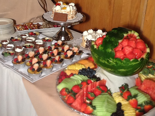 Special Events and Functions Desserts