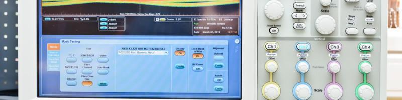 Digital Oscilloscope, Eye Pattern, Automated Test