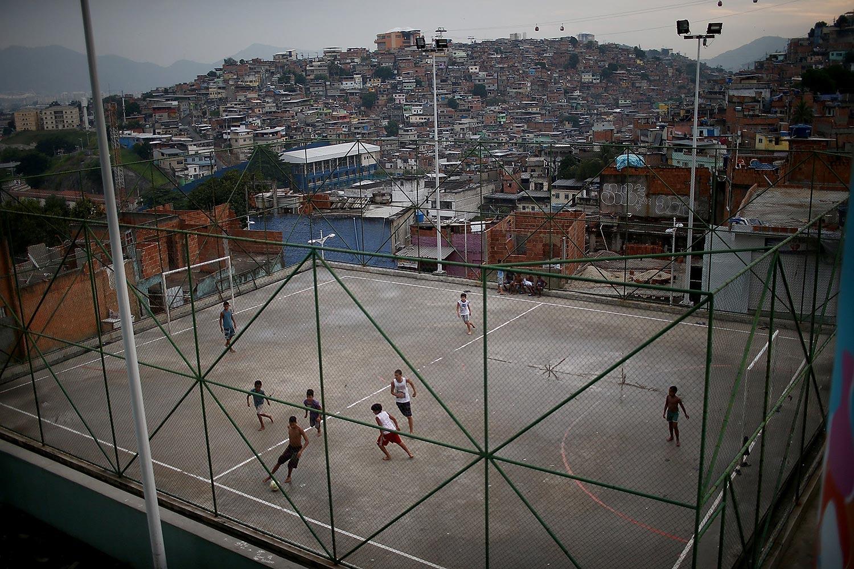 Street soccer Brazil