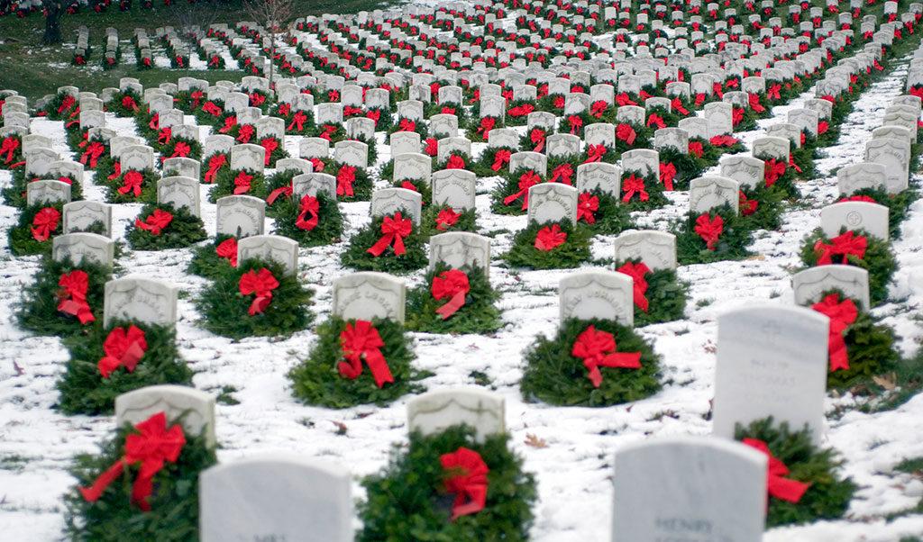 Wreaths Across America Arlington Cemetery