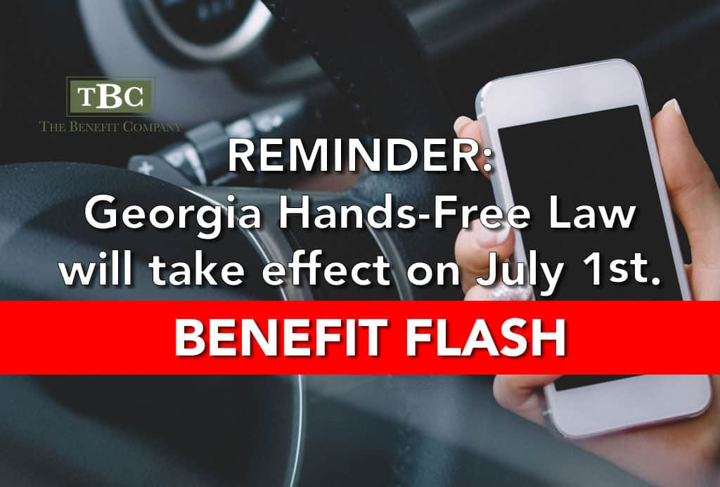 Georgia Hands Free Law