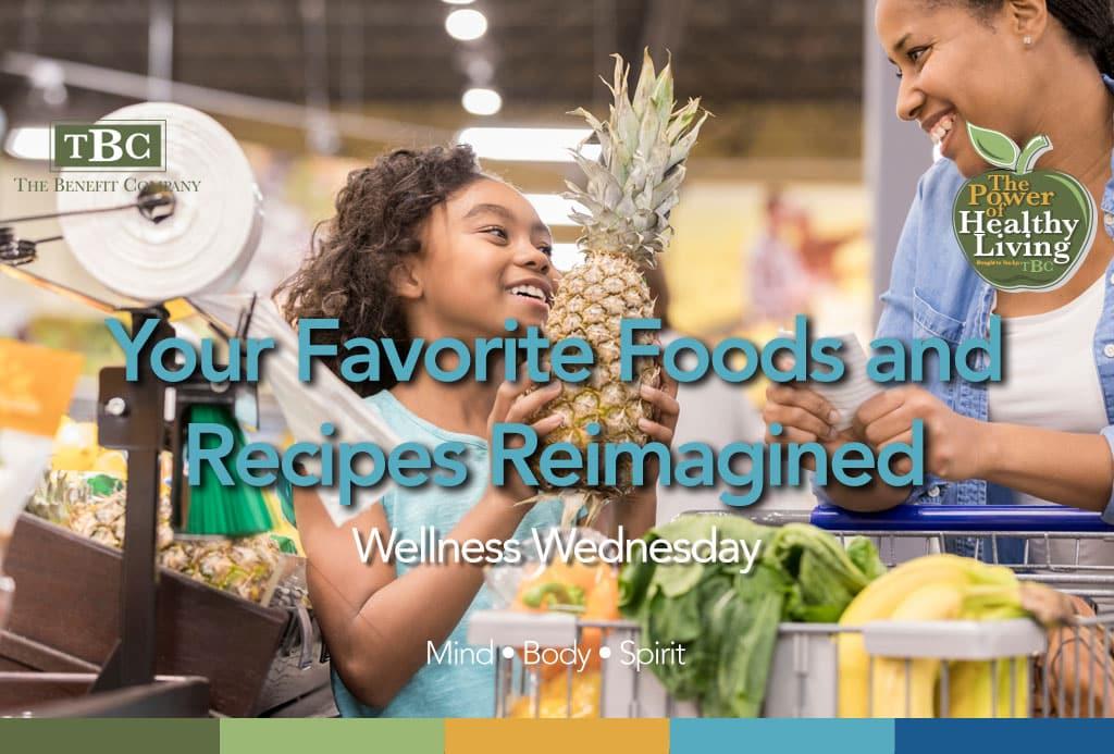 Recipes Reimagined