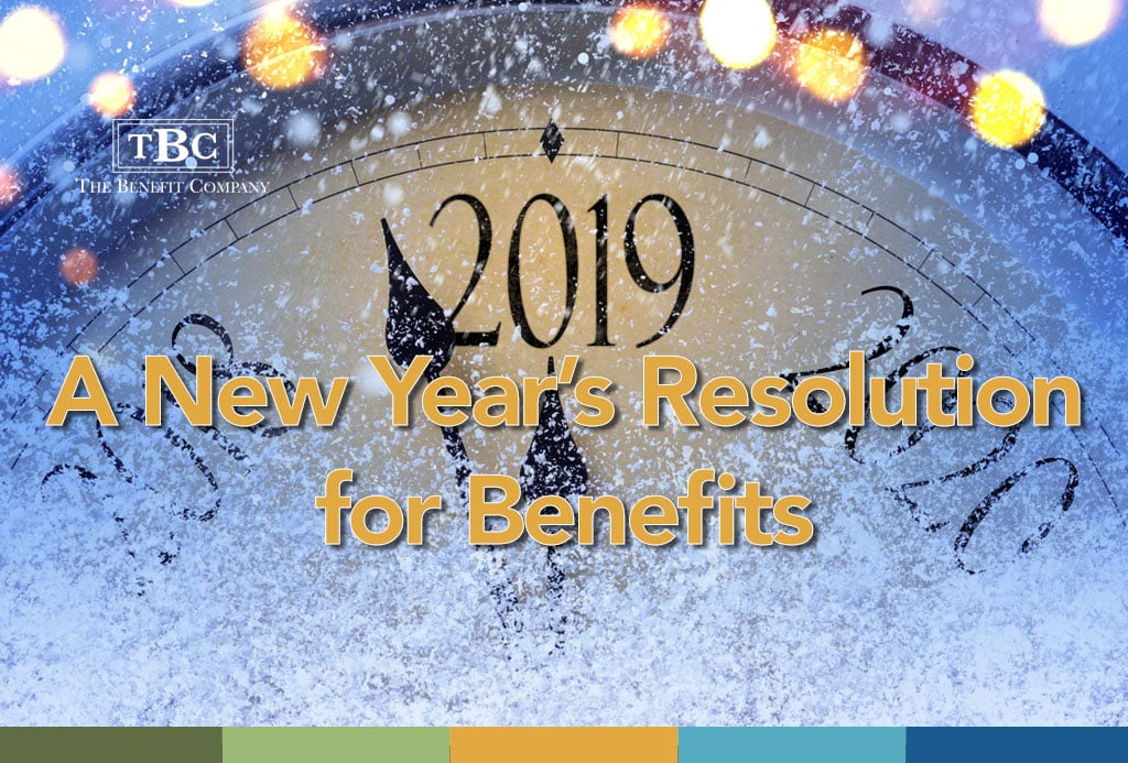 New Years Resolution for Benefits