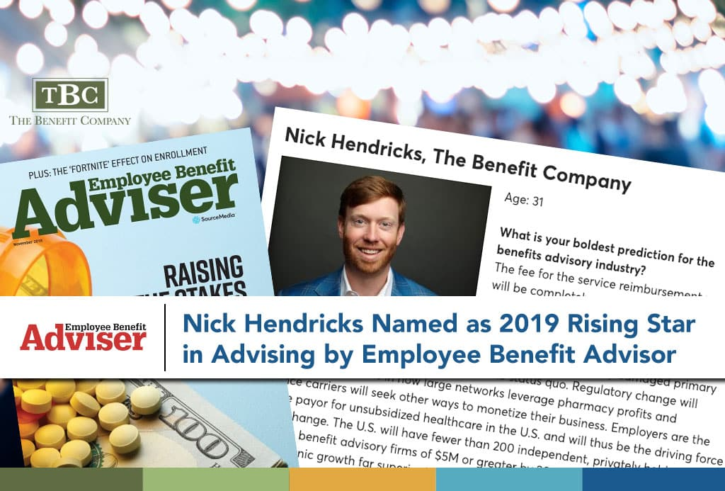 employee benefit advisor rising star