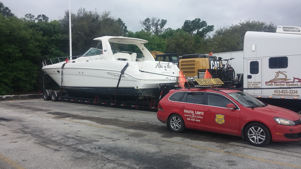 1986 Tartan Soverel 33 Sailboat Transport: Marine Max, Key Largo Florida To Anchors Away Boat Yard