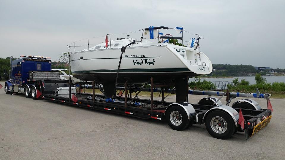 Sailboat Transport