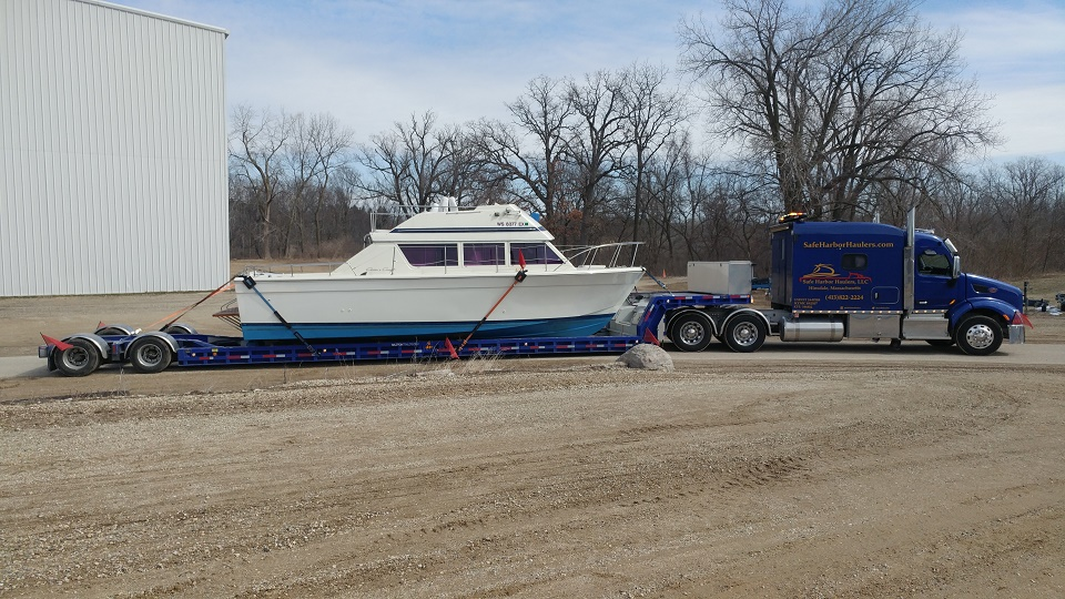 Chris Craft Powerboat Transport