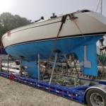 Swan Sailboat Transport