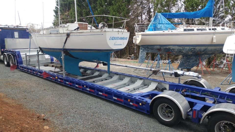 boat transport, sailboat transport, yacht transport, marine transport