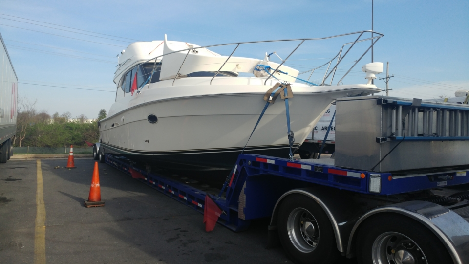 yacht delivery, yacht transport, marine transport, boat transport companies, boat movers