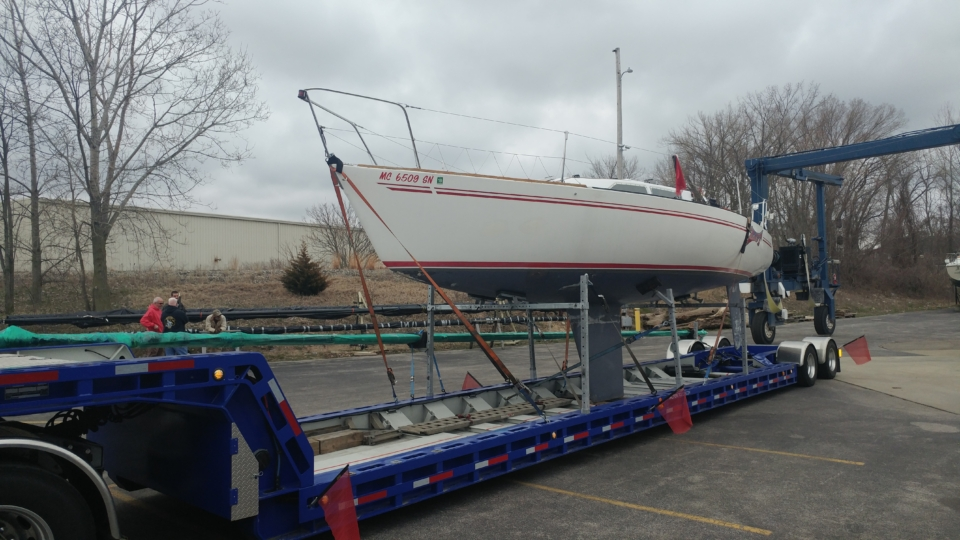 sailboat transport, sailboat movers, marine transport, yacht delivery