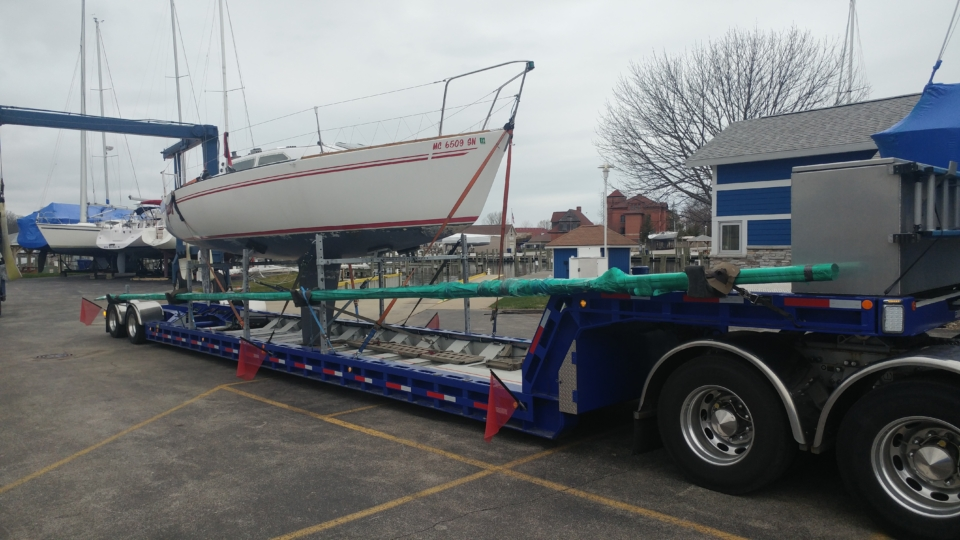 sailboat movers, boat movers, boat shipping, boat transport, yacht transport