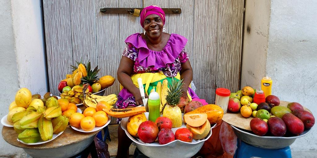 Palenquero Fruit Seller