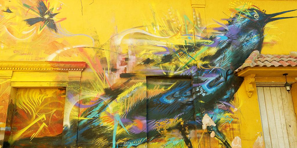 Getsemani Graffiti in Cartagena