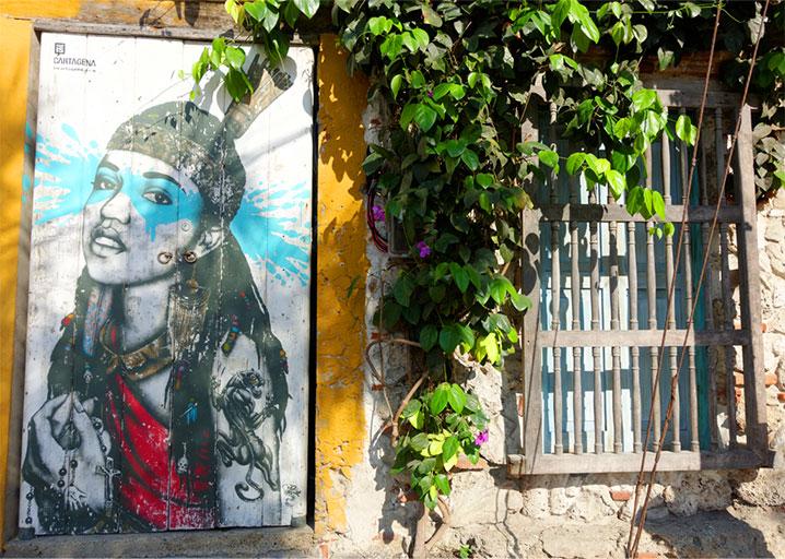 Graffiti in Getsemani