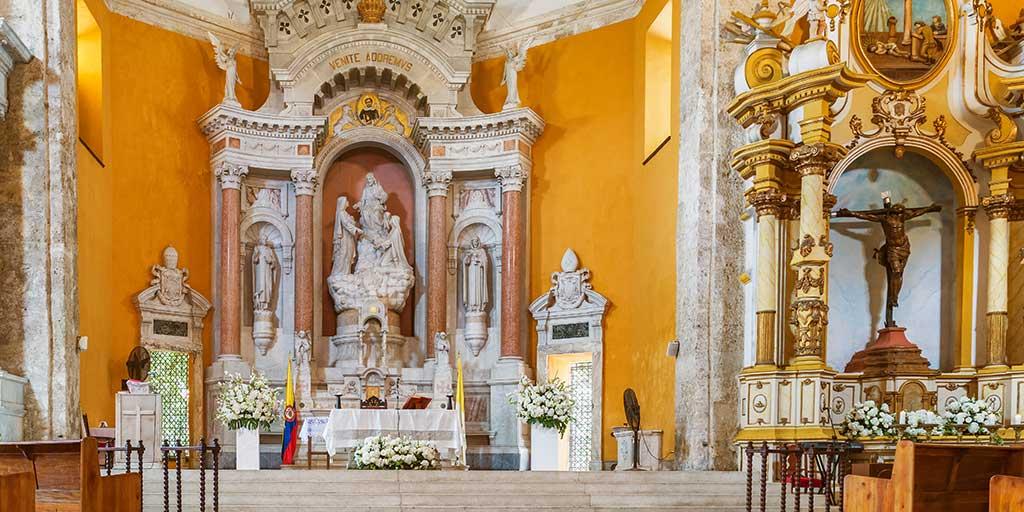 Santo Domingo Church Cartagena