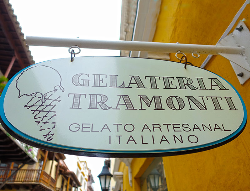 Gelateria Tramonti Ice Cream Palour In Cartagena