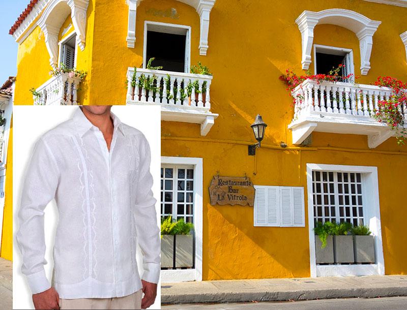 Guayabera Shirts for Evenings in Cartagena