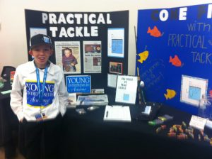 Young Entrepreneur Tradeshow Booth Featuring Practical Tackle