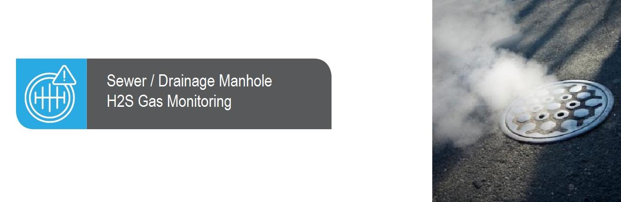 Sewer Manhole Gas Monitoring