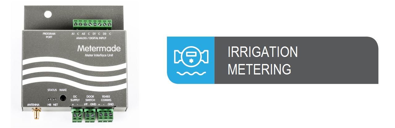Irrigation Metering