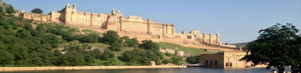 Amber Fort - river view
