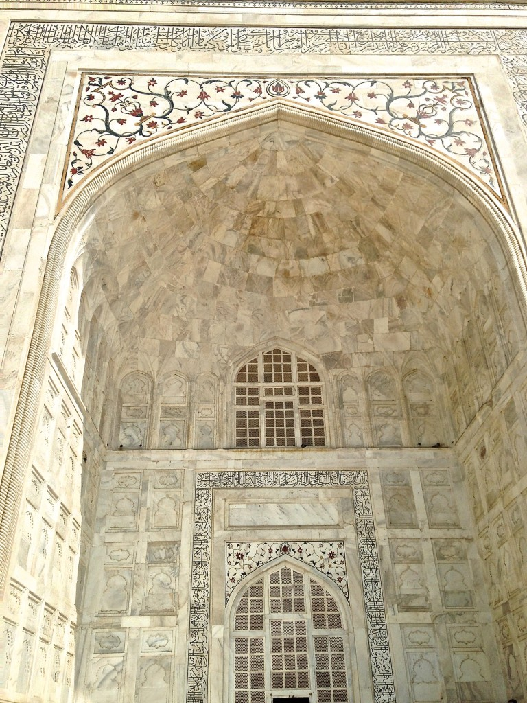 Inlay of Taj