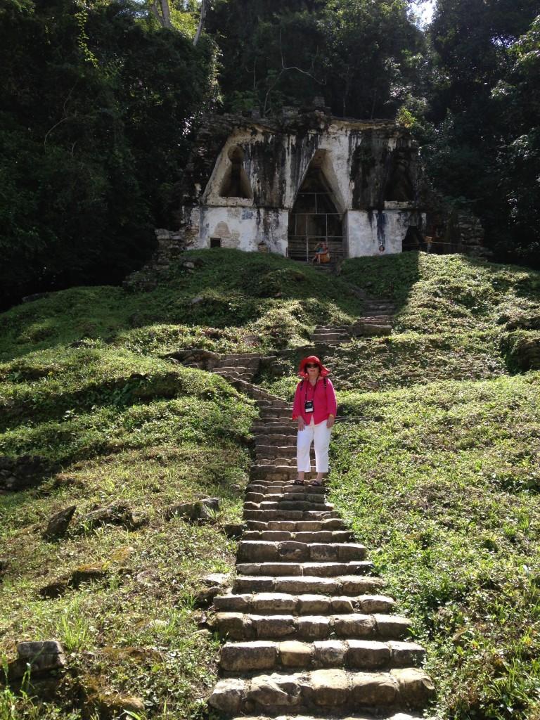 Palenque steps