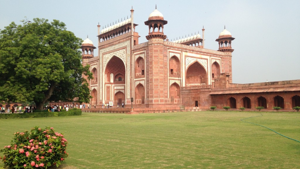 outer gates of TajMahal