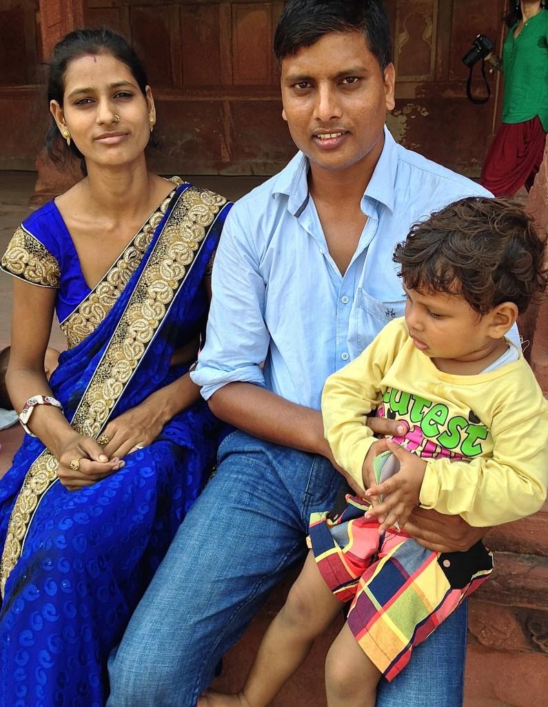 sari on female western on males