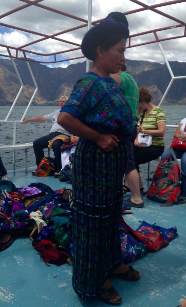 weaver on L Atitlan
