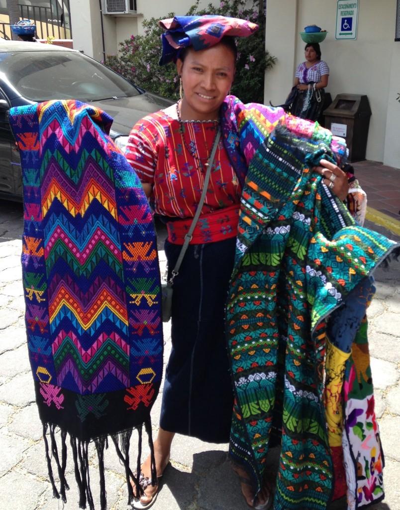 Weaver at L. Atitlan